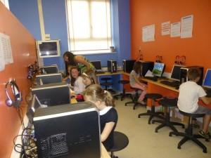 Cours d'informatique à l'école